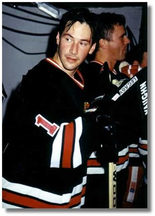 Keanu Reeves is listed (or ranked) 3 on the list Celebrities Who Played Hockey in School