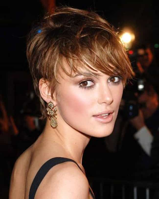 Keira Knightley is listed (or ranked) 1 on the list Celeb Women Who Can Totally Pull Off Short Hair