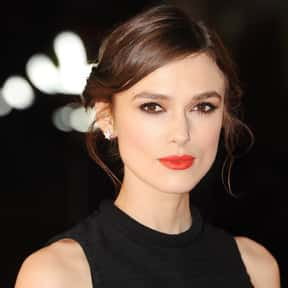 Keira Knightley is listed (or ranked) 6 on the list The Most Stunning English Fashion Models