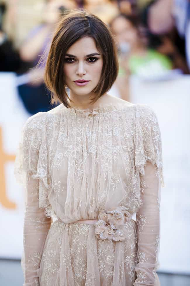 Keira Knightley is listed (or ranked) 2 on the list 27 Famous Nonsocial People