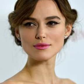 Keira Knightley is listed (or ranked) 14 on the list The Most Beautiful Celebrities Of Our Time