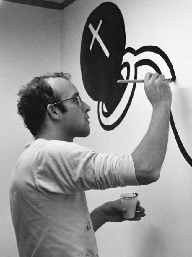 Keith haring is listed or ranked 3 on the list the best pop art