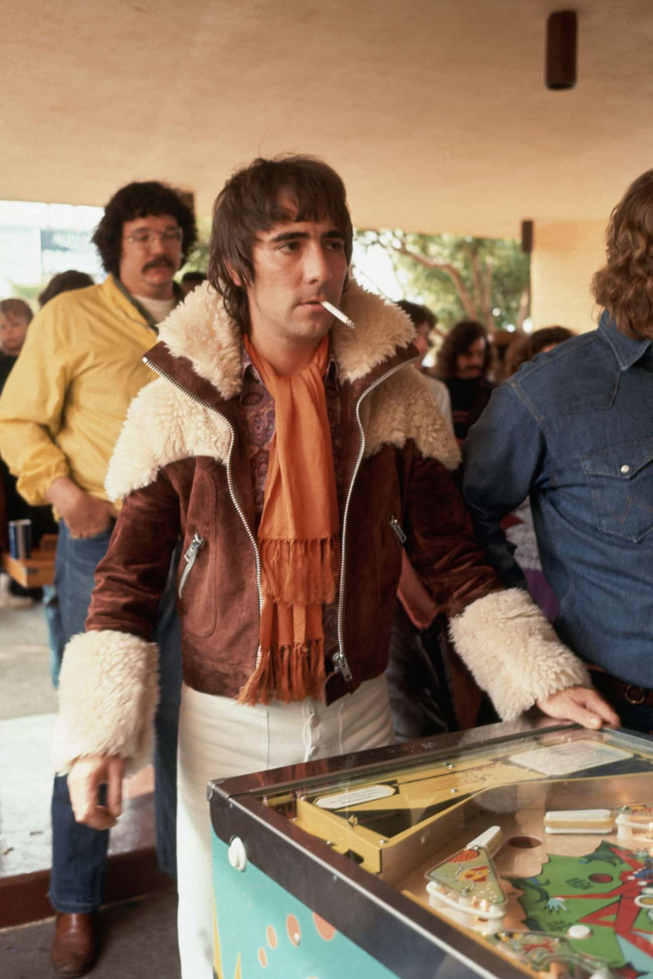 Keith Moon is listed (or ranked) 4 on the list 10 Musicians Who Can Pull Off A Damn Good Prank