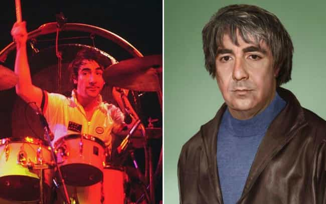 Keith Moon is listed (or ranked) 7 on the list This Artist Imagined How These Dead Rock Stars Would Look If They Were Still Alive Today