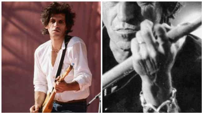 Keith Richards is listed (or ranked) 5 on the list Celebs Who Insured Body Parts