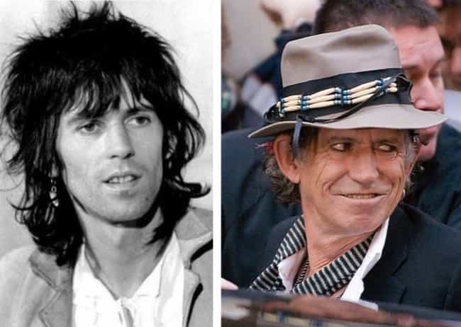 Keith Richards is listed (or ranked) 4 on the list The Rock Stars Who Have Aged the Worst