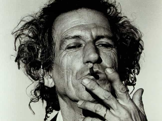 Keith Richards is listed (or ranked) 3 on the list 33 Famous People with Hepatitis C