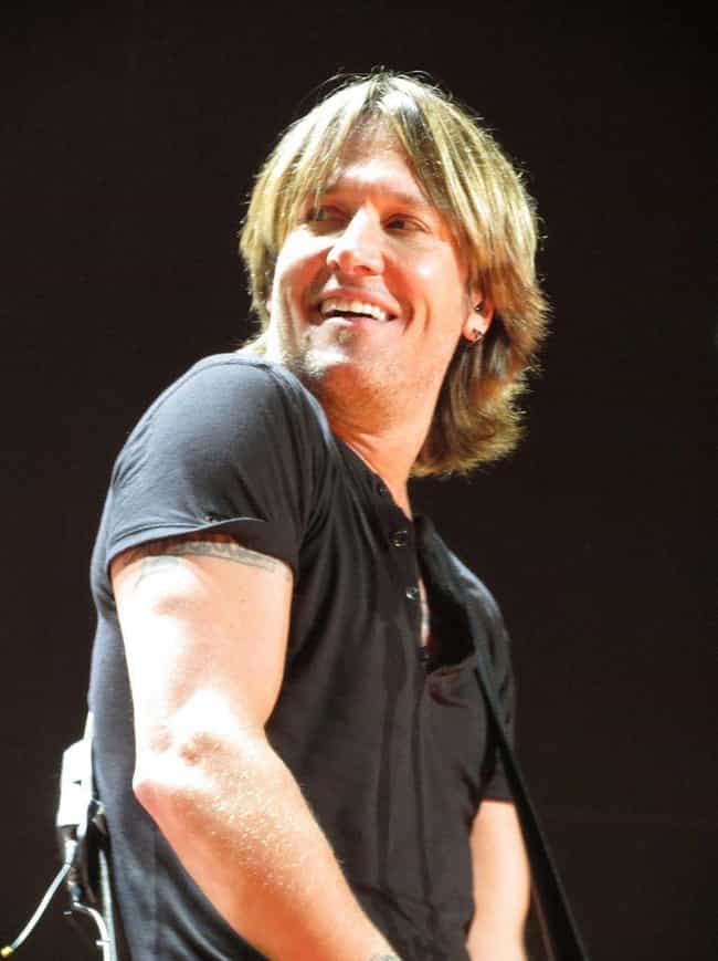 Keith Urban is listed (or ranked) 2 on the list Country Singers Who Have Struggled with Alcoholism