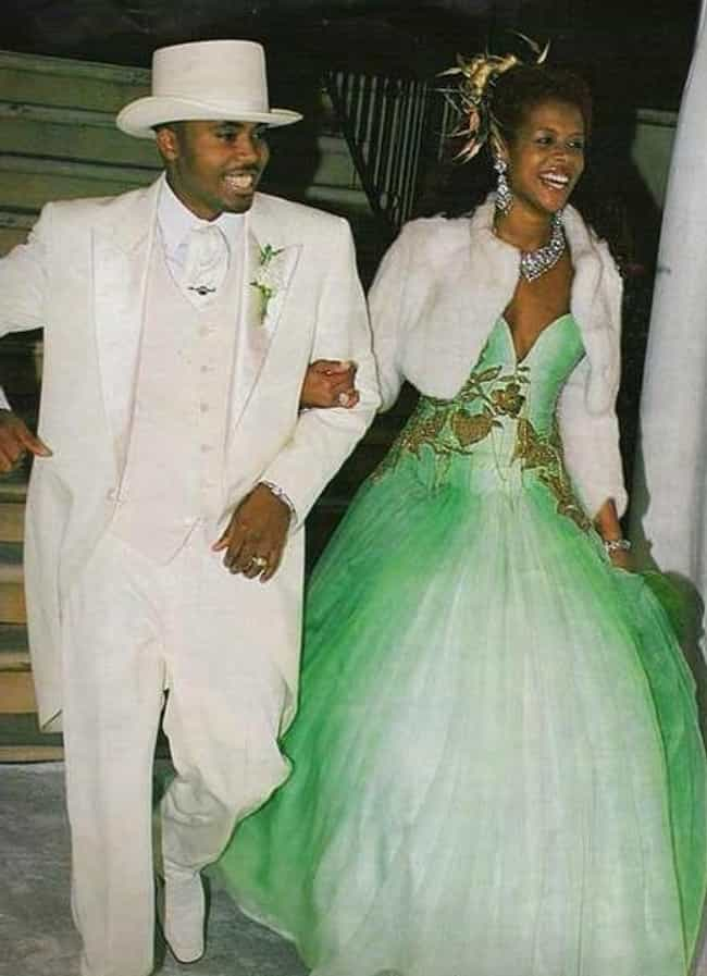 Kelis is listed (or ranked) 4 on the list 31 of the Wackiest Celebrity Wedding Gowns