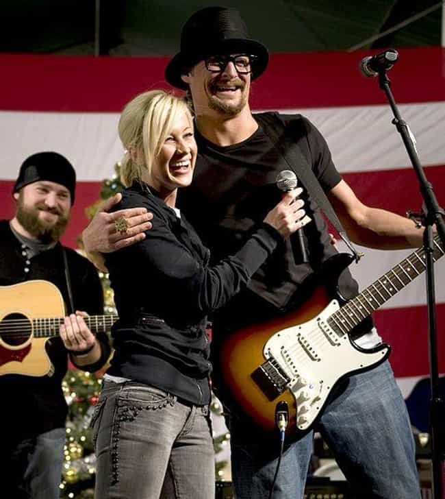 Kellie Pickler is listed (or ranked) 2 on the list Women Who Kid Rock Has Dated