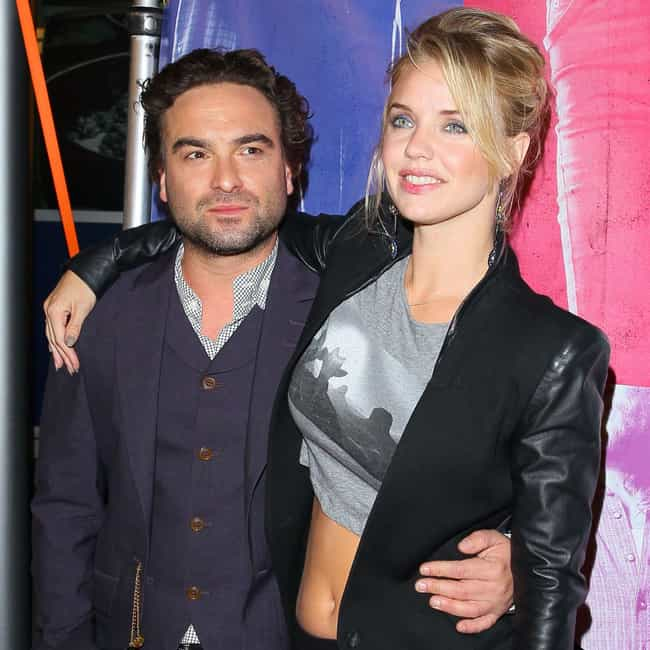 Kelli Garner is listed (or ranked) 4 on the list Johnny Galecki Loves and Hookups