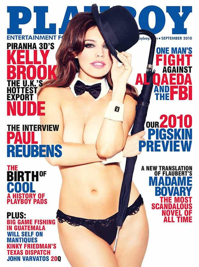 Kelly Brook is listed (or ranked) 1 on the list The Best Playboy Covers