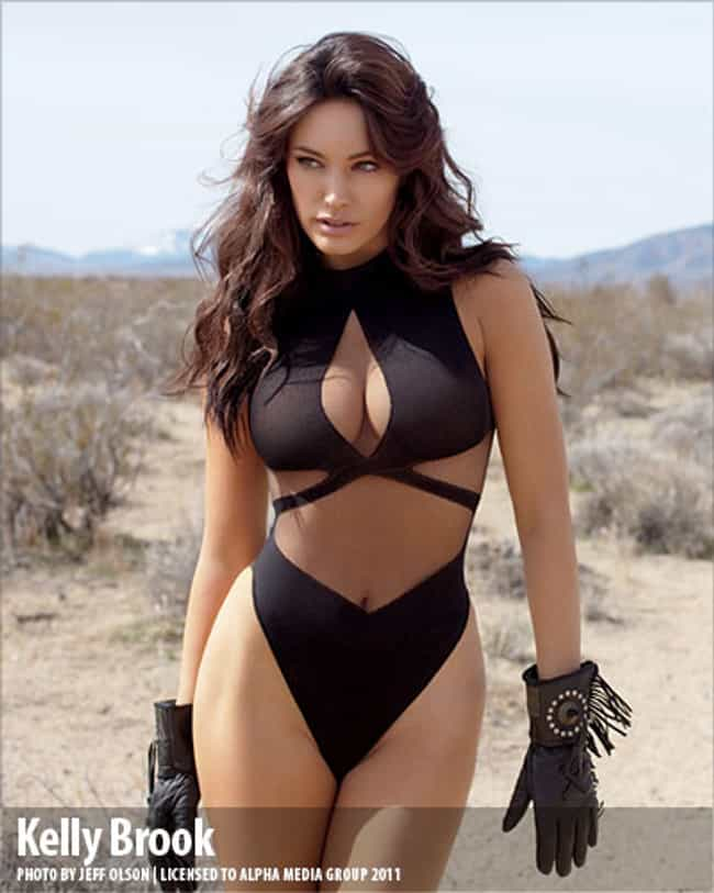 Kelly Brook is listed (or ranked) 1 on the list The Hottest Full-Figured Women on Earth