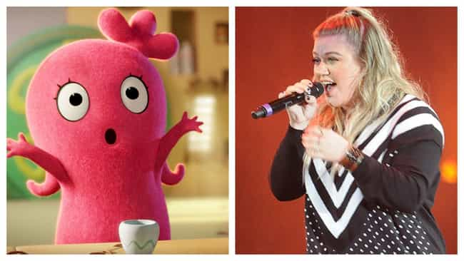 Kelly Clarkson is listed (or ranked) 1 on the list Here's Where You've Heard All The Voices In 'UglyDolls' Before