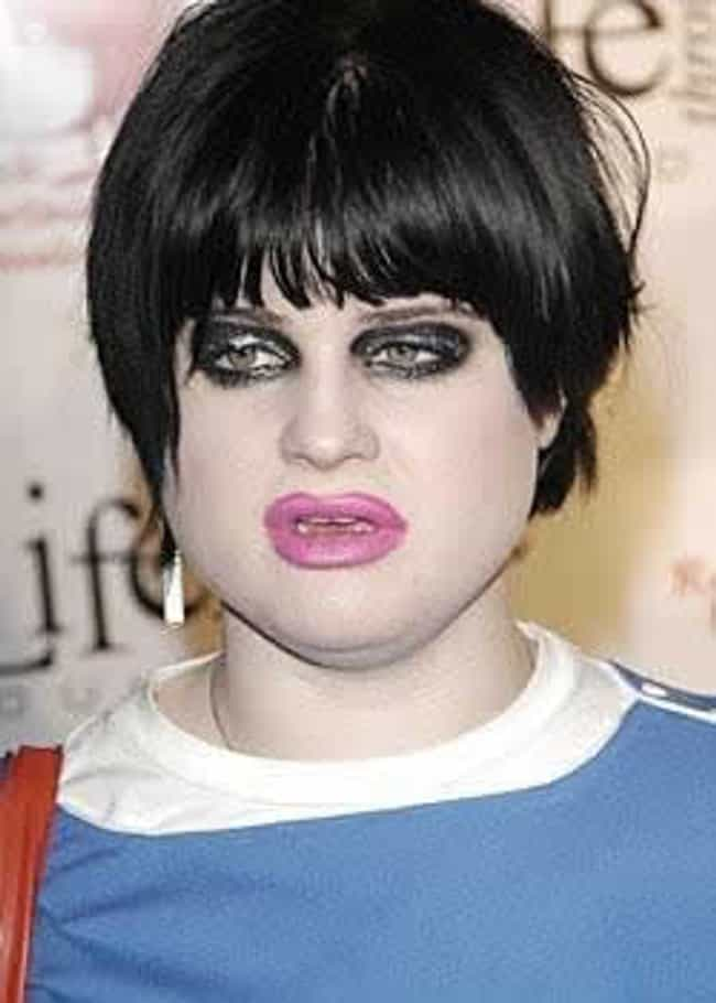 Kelly Osbourne is listed (or ranked) 3 on the list Pure UGLIEST Celebrities?!