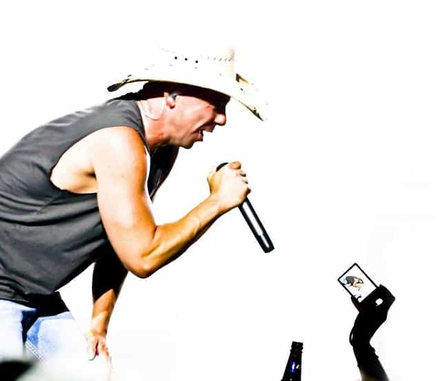 Kenny Chesney is listed (or ranked) 2 on the list 34 Celebrities Who Were in Lambda Chi Alpha