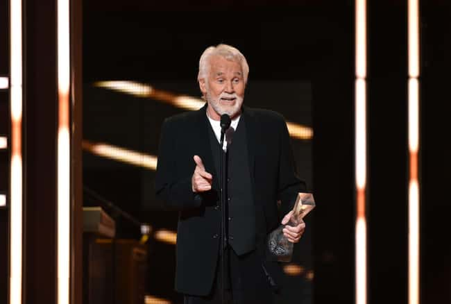 Kenny Rogers is listed (or ranked) 9 on the list Celebrities Who Actually Support Donald Trump