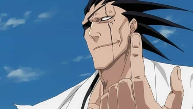 Kenpachi Zaraki is listed (or ranked) 4 on the list The Greatest Anime Characters With Scars