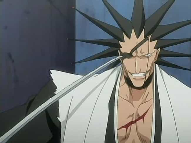 Kenpachi Zaraki is listed (or ranked) 4 on the list The 25 Most Baffling Anime Hairstyles That Completely Defy Gravity