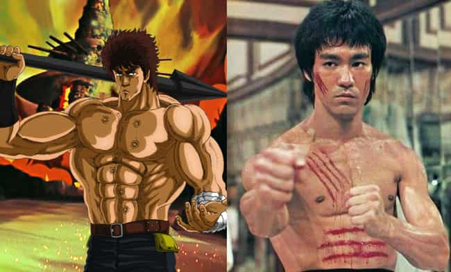 Kenshiro is listed (or ranked) 3 on the list People In The Real World Who Look Like Anime Characters