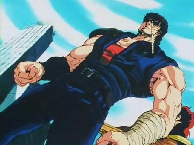 Kenshiro is listed (or ranked) 3 on the list The 20 Manliest Anime Men Of All Time