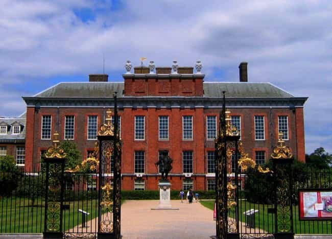 Kensington Palace is listed (or ranked) 1 on the list At Which Royal Residence Would You Throw The Party Of The Century?