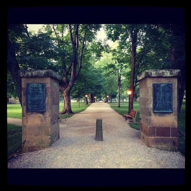 Kenyon College is listed (or ranked) 2 on the list The Most Haunted College Campuses In The United States