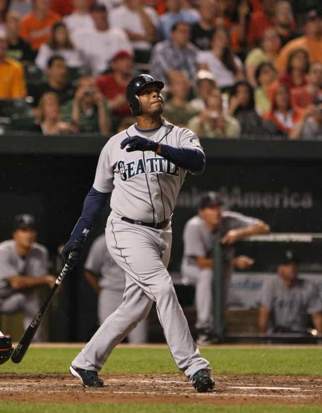 Ken Griffey, Jr. is listed (or ranked) 1 on the list Athletes Who Suffered the Most Bizarre Off-Field Injuries