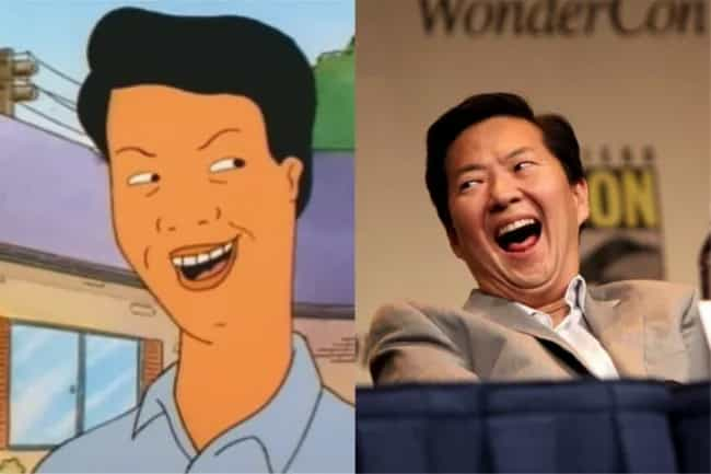 Ken Jeong is listed (or ranked) 1 on the list Who Would Star In A Live-Action 'King Of The Hill' Movie?