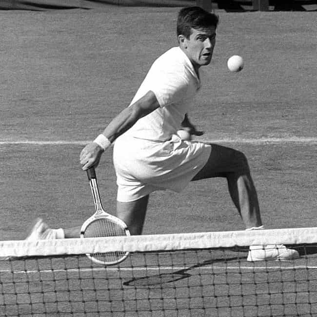 Ken Rosewall is listed (or ranked) 3 on the list The Best Tennis Players from Australia