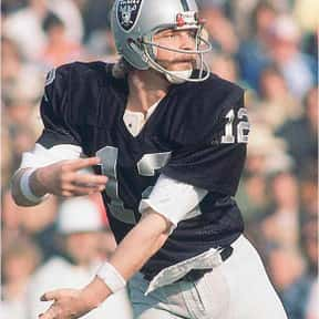 Ken Stabler is listed (or ranked) 17 on the list The Best Oakland Raiders Of All Time