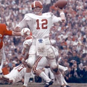 Ken Stabler is listed (or ranked) 14 on the list The Best Alabama Crimson Tide Football Players of All Time