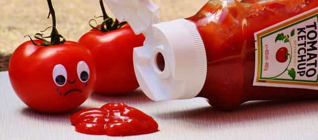 Ketchup is listed (or ranked) 4 on the list The 13 Craziest Things Ever Used As Medicine (In America)