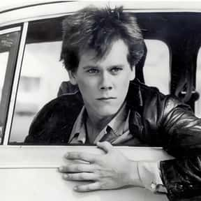 Kevin Bacon is listed (or ranked) 8 on the list The Greatest '80s Teen Stars