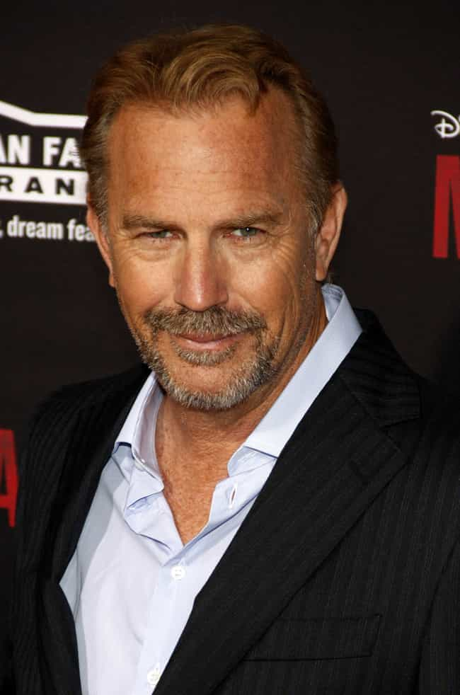 Kevin Costner is listed (or ranked) 1 on the list Actors Who Are Terrible at Doing Accents