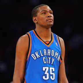 Kevin Durant is listed (or ranked) 4 on the list The Best Oklahoma City Thunder Players of All Time