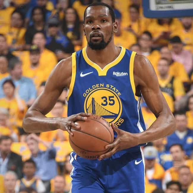 Kevin Durant is listed (or ranked) 2 on the list The Top Current NBA Players