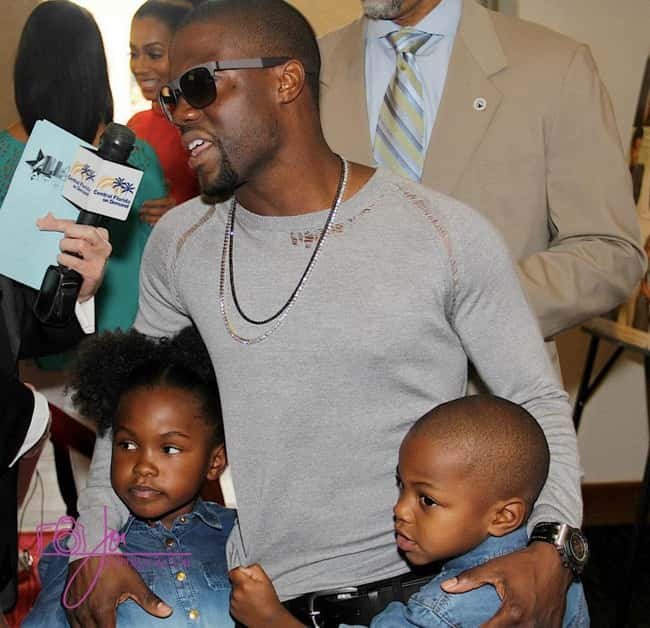 Kevin Hart is listed (or ranked) 19 on the list 26 Famous Single Dads