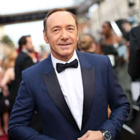 Kevin Spacey is listed (or ranked) 3 on the list Famous Gay Men: List of Gay Men Throughout History