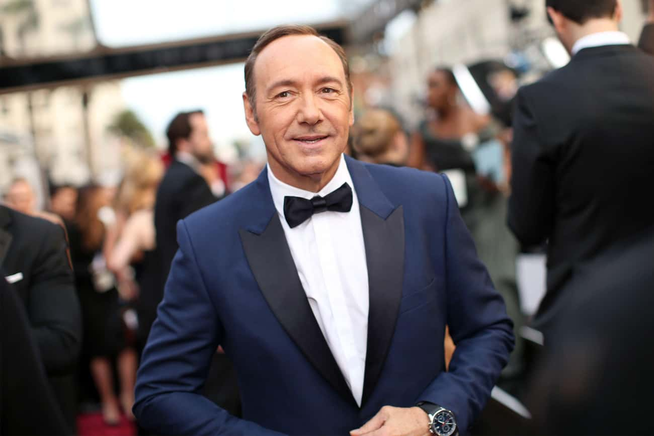 Kevin Spacey is listed (or ranked) 1 on the list Celebrities Who Went to The Meadows Rehab