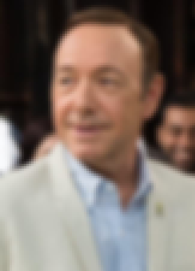 Kevin Spacey is listed (or ranked) 2 on the list 38 Gay Stars Who Came Out to the Media