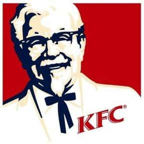 KFC is listed (or ranked) 25 on the list The Best Fast Food Chains