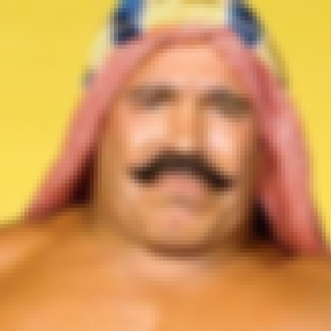 The Iron Sheik is listed (or ranked) 3 on the list The Best Mustaches in Wrestling History