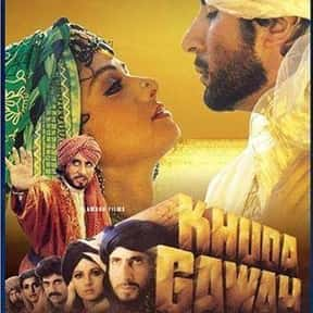 Khuda Gawah is listed (or ranked) 7 on the list The Best Amitabh Bachchan Movies