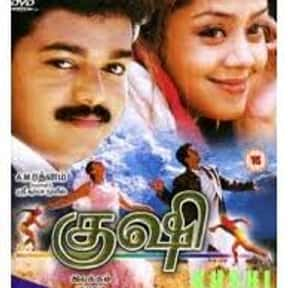 Kushi is listed (or ranked) 12 on the list The Top 10 Tamil Films of 2000