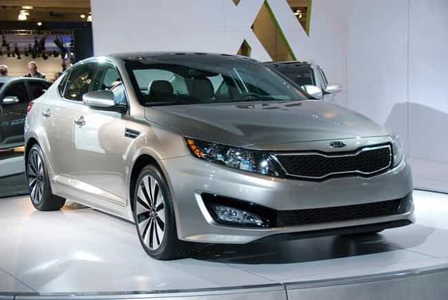 Kia Optima is listed (or ranked) 2 on the list Comfortable Cars for Large People