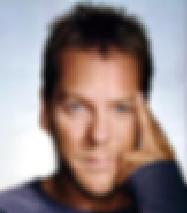 Kiefer Sutherland is listed (or ranked) 3 on the list 19 Celebrities with Heterochromia Iridis