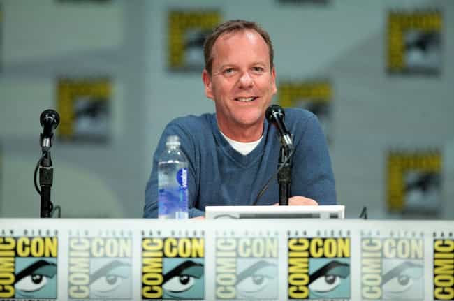 Kiefer Sutherland is listed (or ranked) 4 on the list 14 Celebrities Who Were Left at the Altar