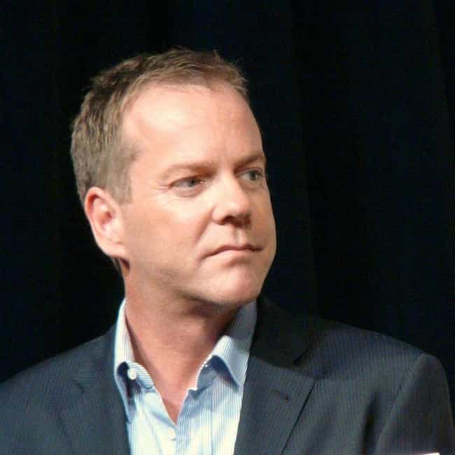 Kiefer Sutherland is listed (or ranked) 3 on the list Celebs You Didn't Know Aren't American