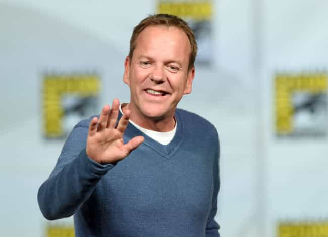 Kiefer Sutherland is listed (or ranked) 3 on the list Men Who Ashley Scott Has Dated